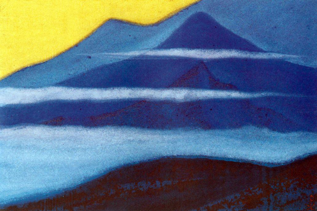 Nicholas Roerich. The Himalayas (Evening fog)