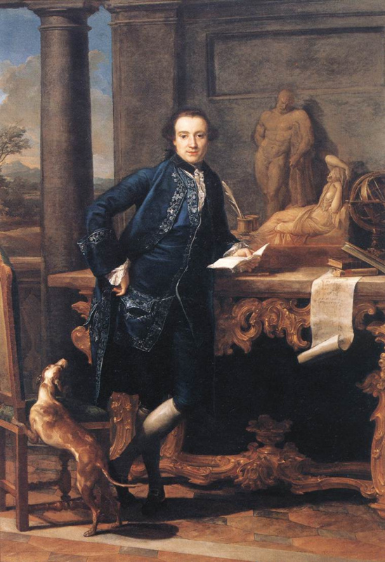 Pompeo Girolamo Batoni. Portrait Of Charles Crowley