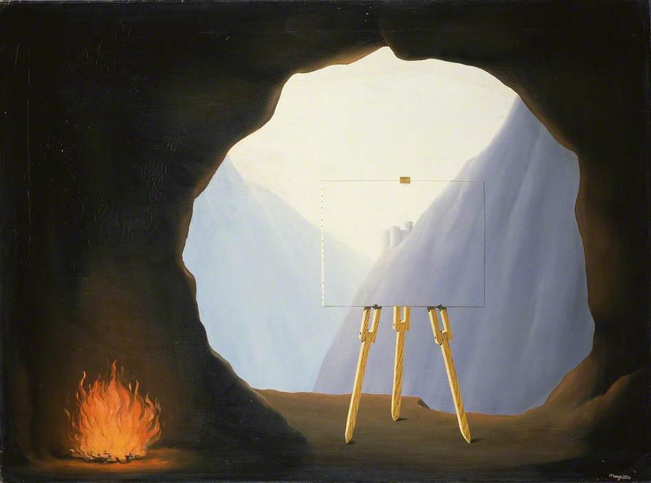 René Magritte. La condition humaine