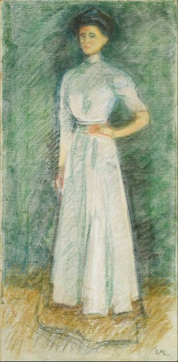 Edvard Munch. Mar Sandal