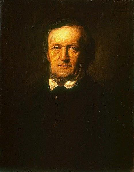 Франц фон Ленбаха. Портрет Рихарда Вагнера