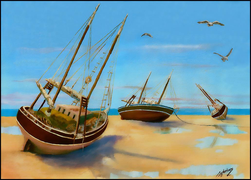 Дениз Сиденхам. Морской пейзаж 4