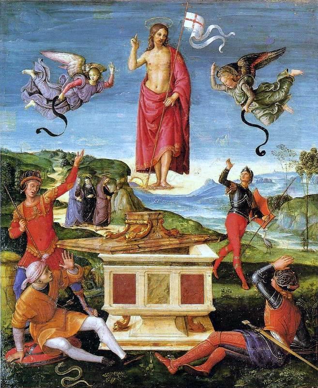 Raphael Sanzio. The Resurrection Of Christ