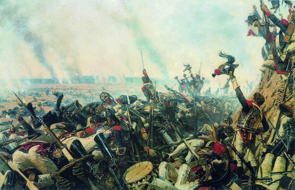 Vasily Vasilyevich Vereshchagin. The end of the Borodino battle