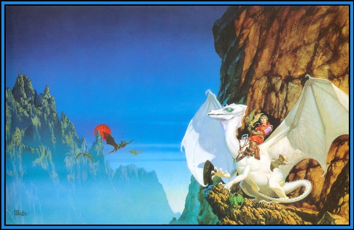 Майкл Уилан. Белый дракон