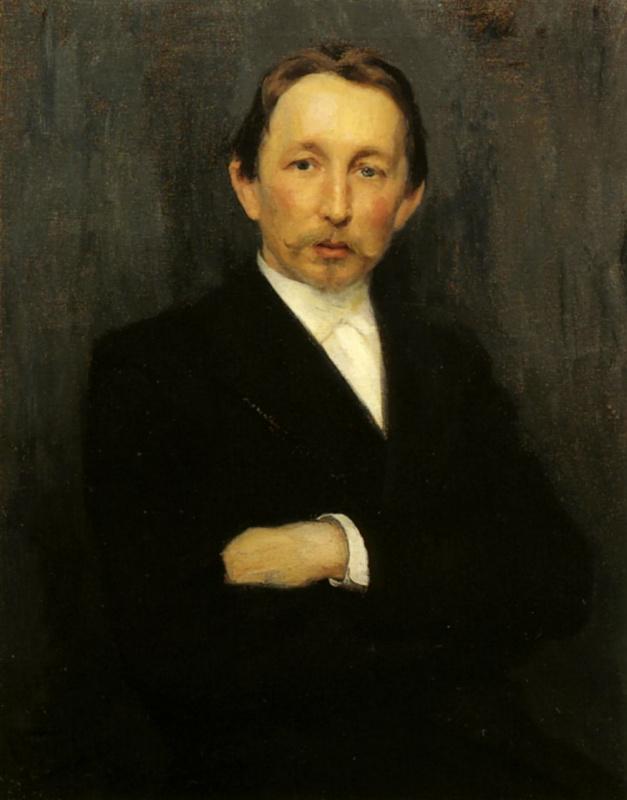Николай Дмитриевич Кузнецов. Портрет А. М. Васнецова