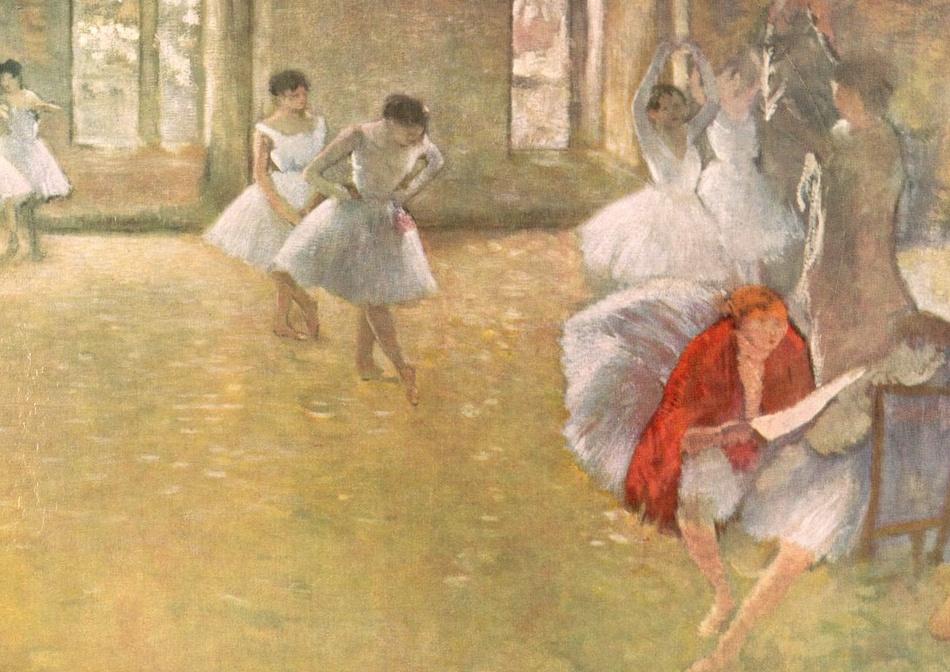 Эдгар Дега. Танцовщицы в репетиционном зале