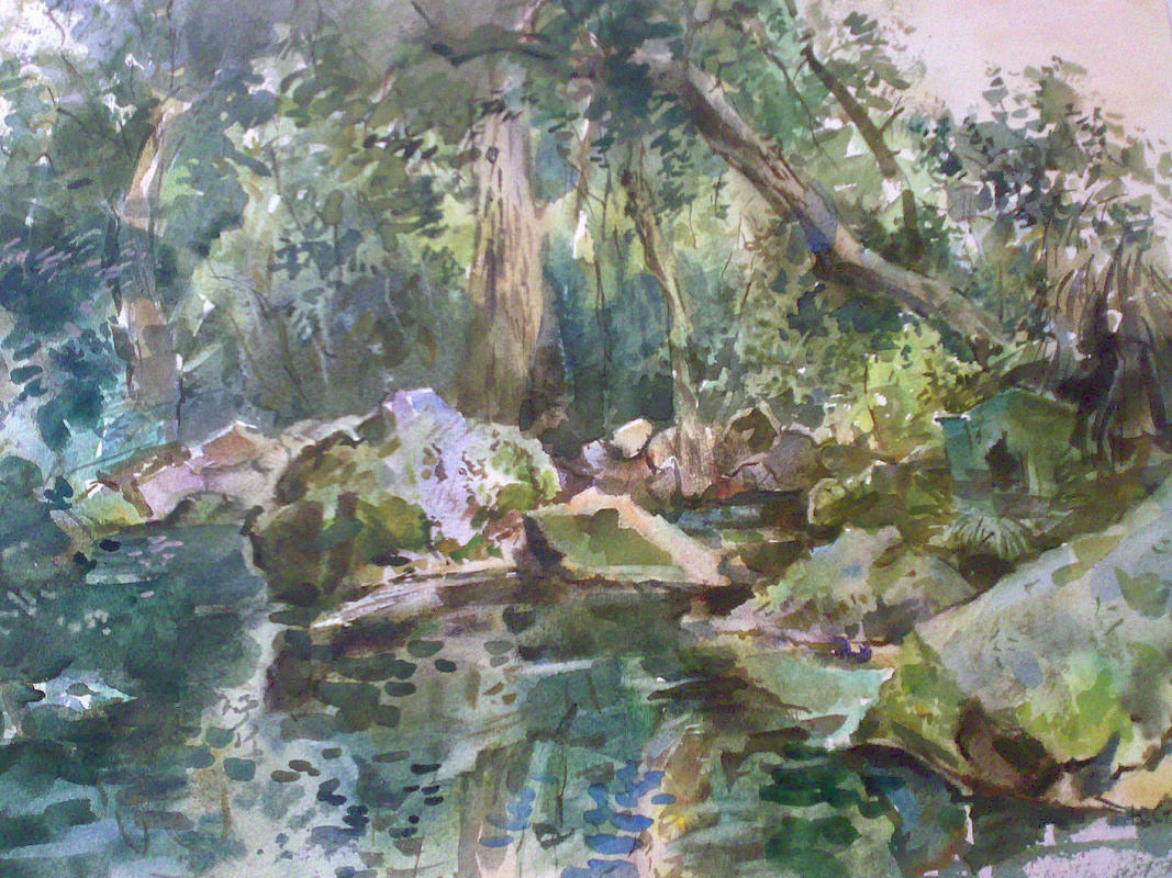 YULIANNA VLADIMIROVNA STAROVA. Pond