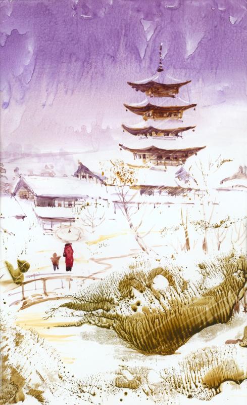 Александр Ягодкин. Япония после снегопада