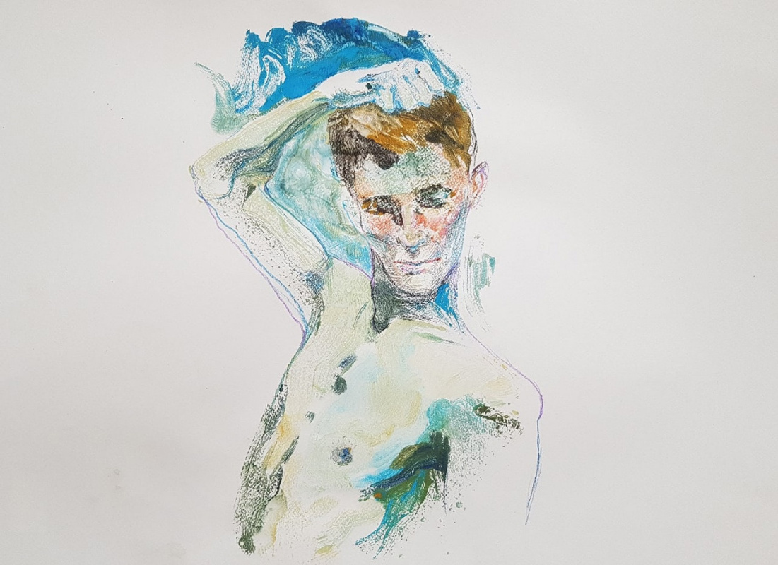 Alexandra Efimova. Портрет юноши