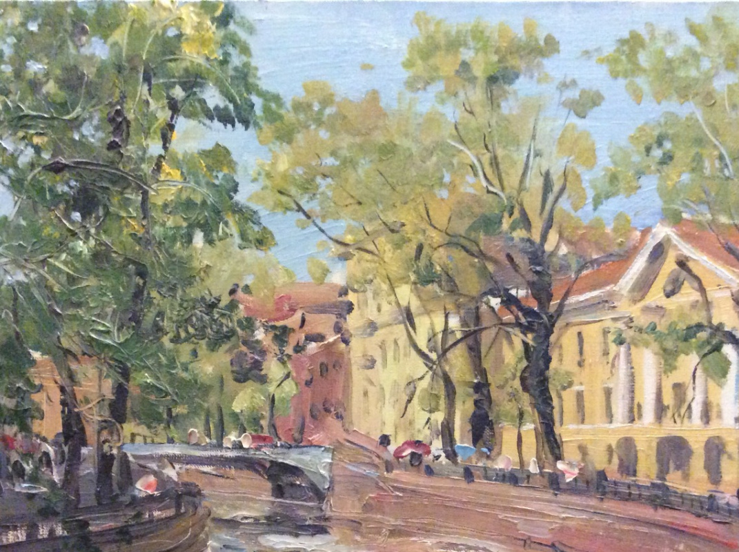 Peter Ivanovich Krivenko. Griboebov Canal