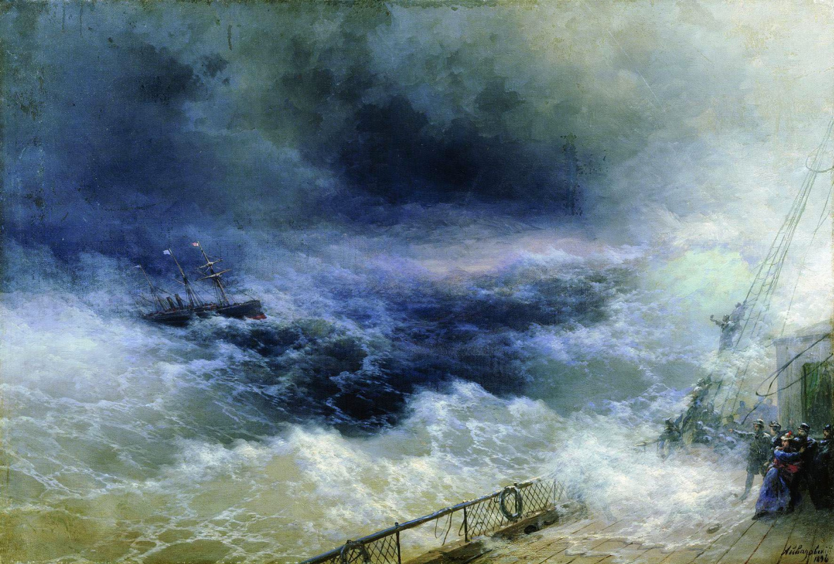 Ivan Aivazovsky. The ocean