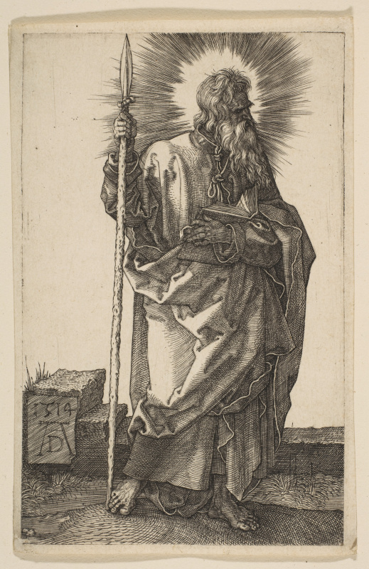 Albrecht Durer. The Apostle Thomas