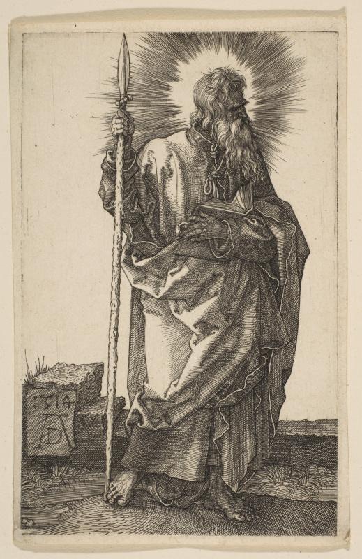 Albrecht Durer. The Apostle Thomas
