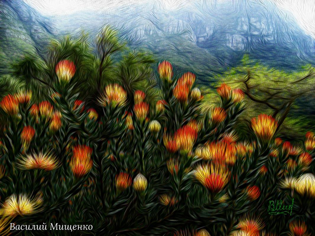Vasiliy Mishchenko. Flowers 032
