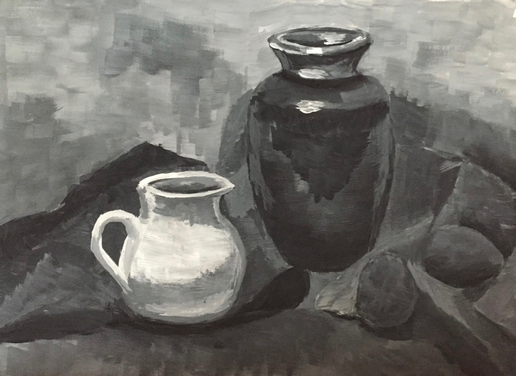 Margo Notfound. Black and white still life