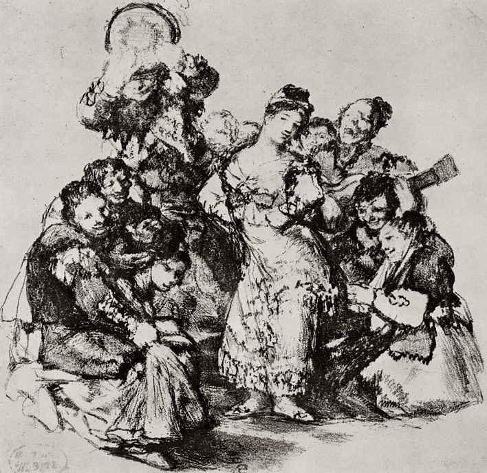 Франсиско Гойя. Андалузский танец