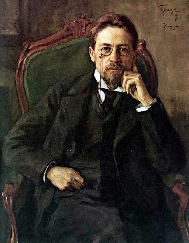 Осип (Иосиф) Эммануилович Браз. Портрет Антона Павловича Чехова
