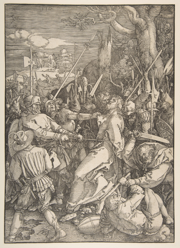 Albrecht Durer. The Betrayal Of Christ