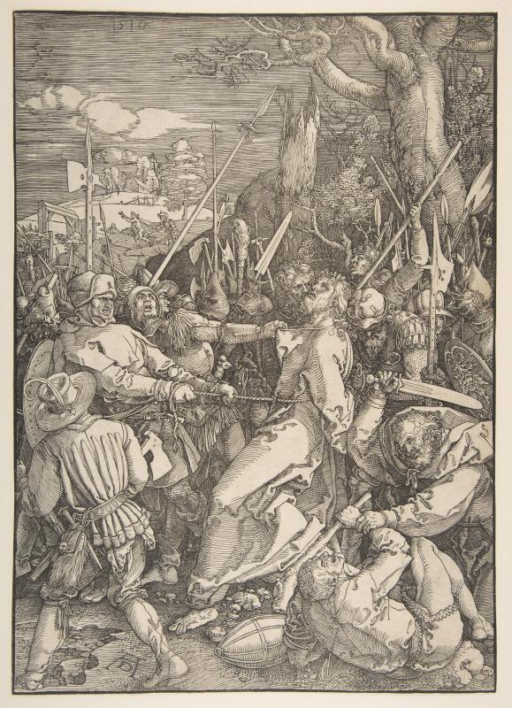 Albrecht Durer. The Betrayal Of Christ