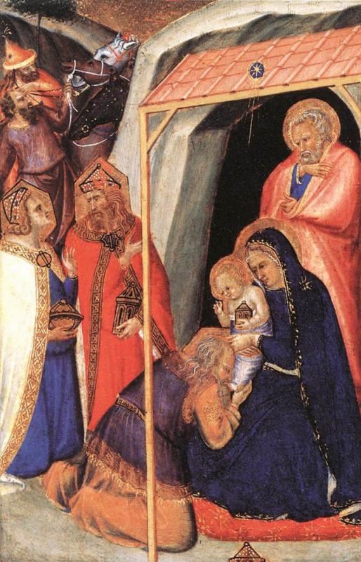 Пьетро Лоренцетти. Поклонение волхвов