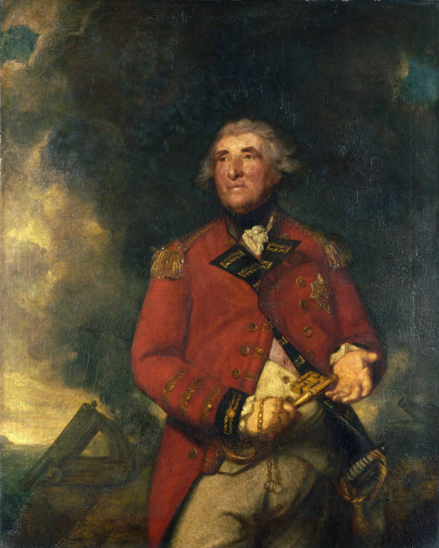 Joshua Reynolds. Portrait of Admiral Lord Heathfield
