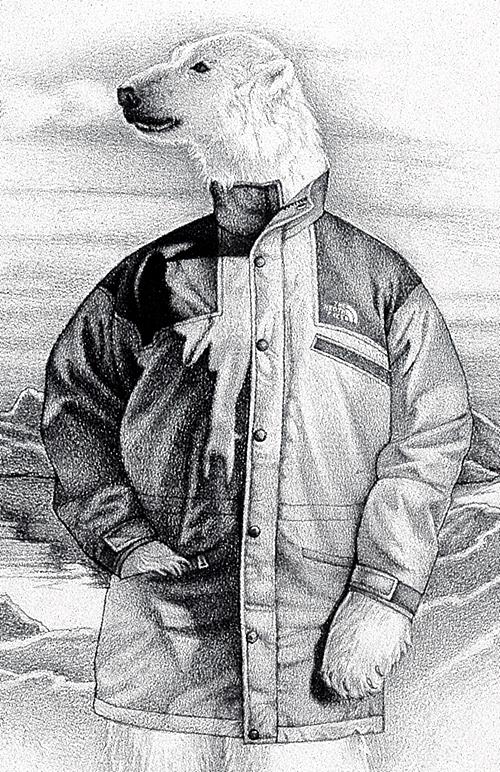 Гарри Дэвис. В куртке