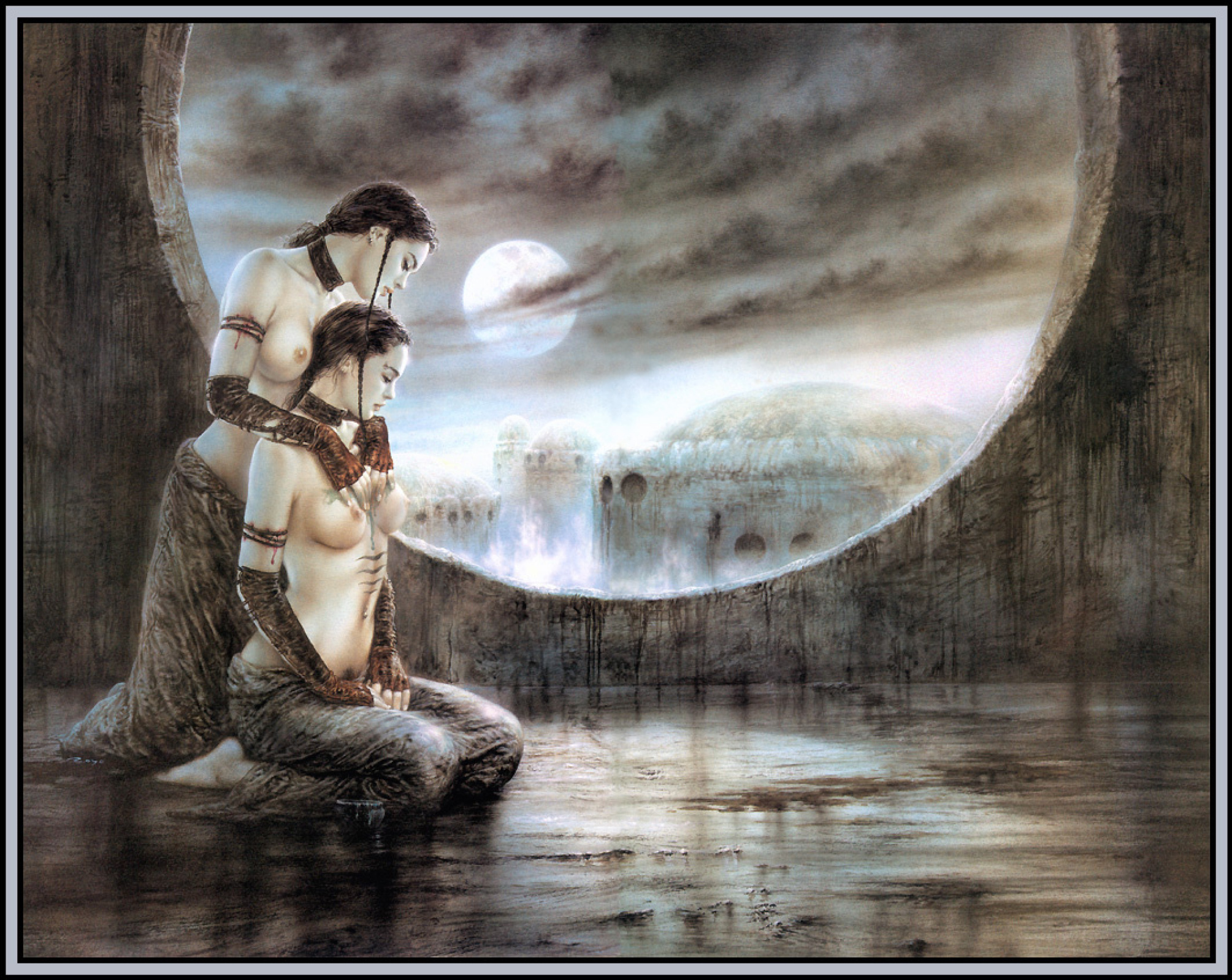 A Healing Spell And The Moonlight Bath By Luis Royo History