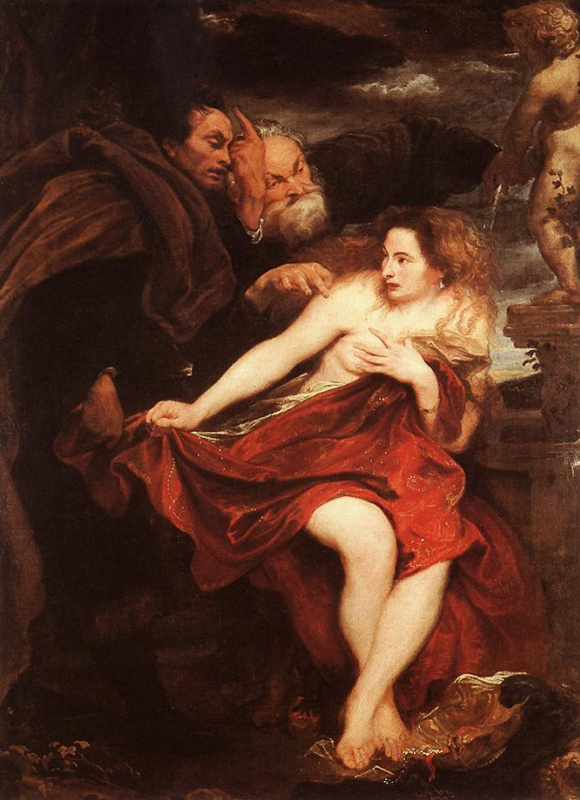 Anthony van Dyck. Susanna and the elders