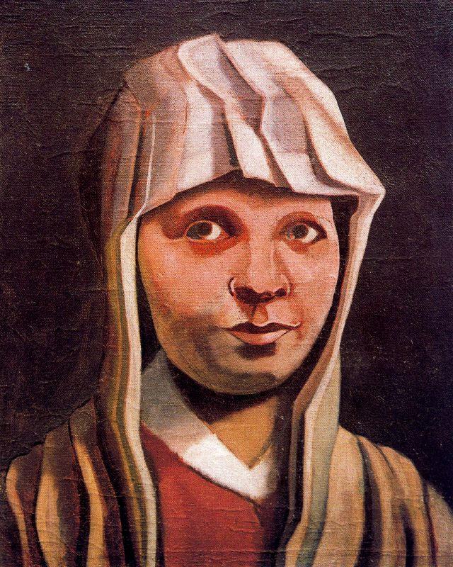 Эмилио Петторути. Портрет девушки
