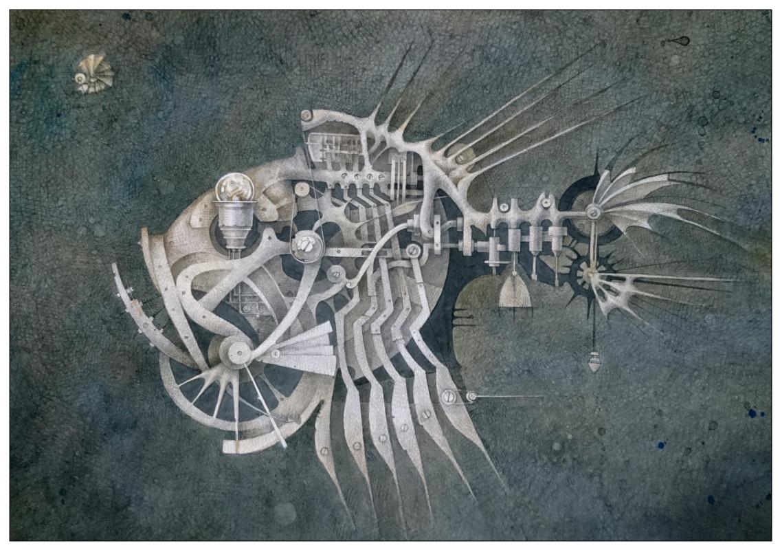 "Наталия Андреевна Коротаева. Топорик, серия ""Механический аквариум"""