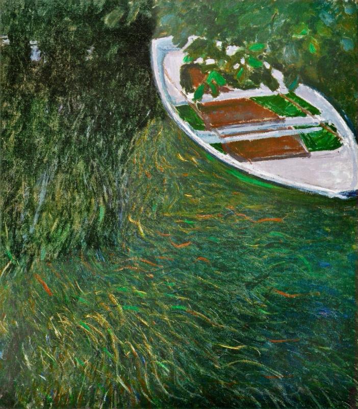 Claude Monet. Boat