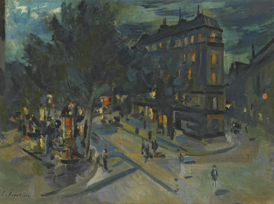 Konstantin Korovin. Night Paris