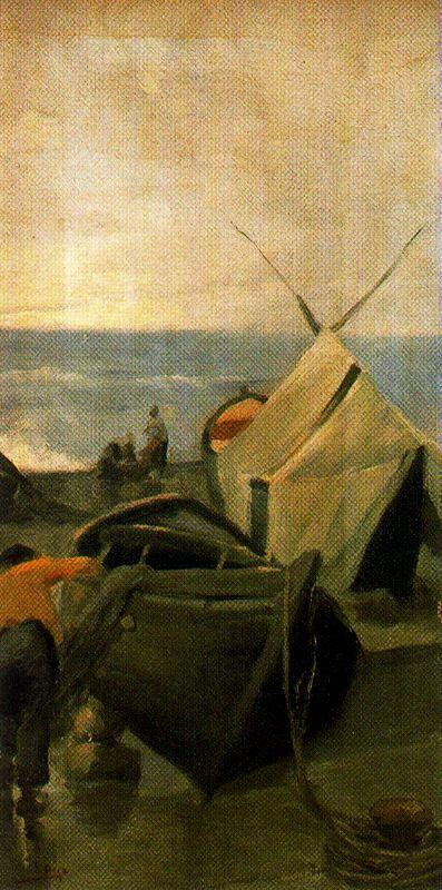 Salvador Díaz Ignacio Ruiz de Olano. Fishing boat.