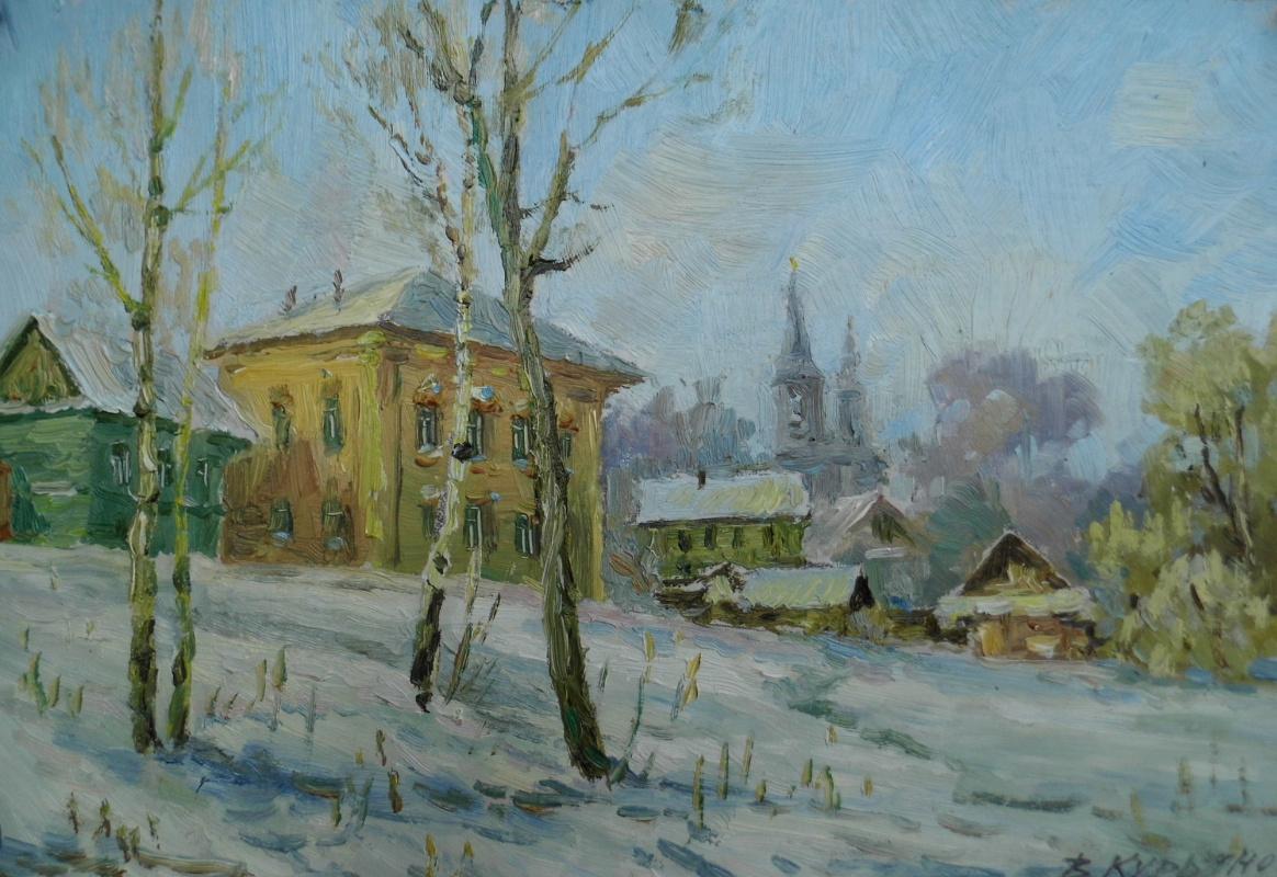 Виктор Владимирович Курьянов. Etude