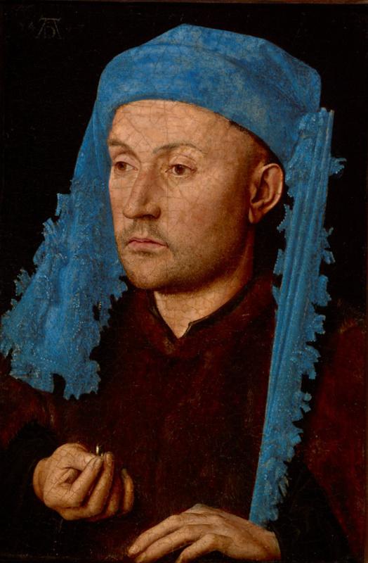 Ян ван Эйк. Мужчина с кольцом