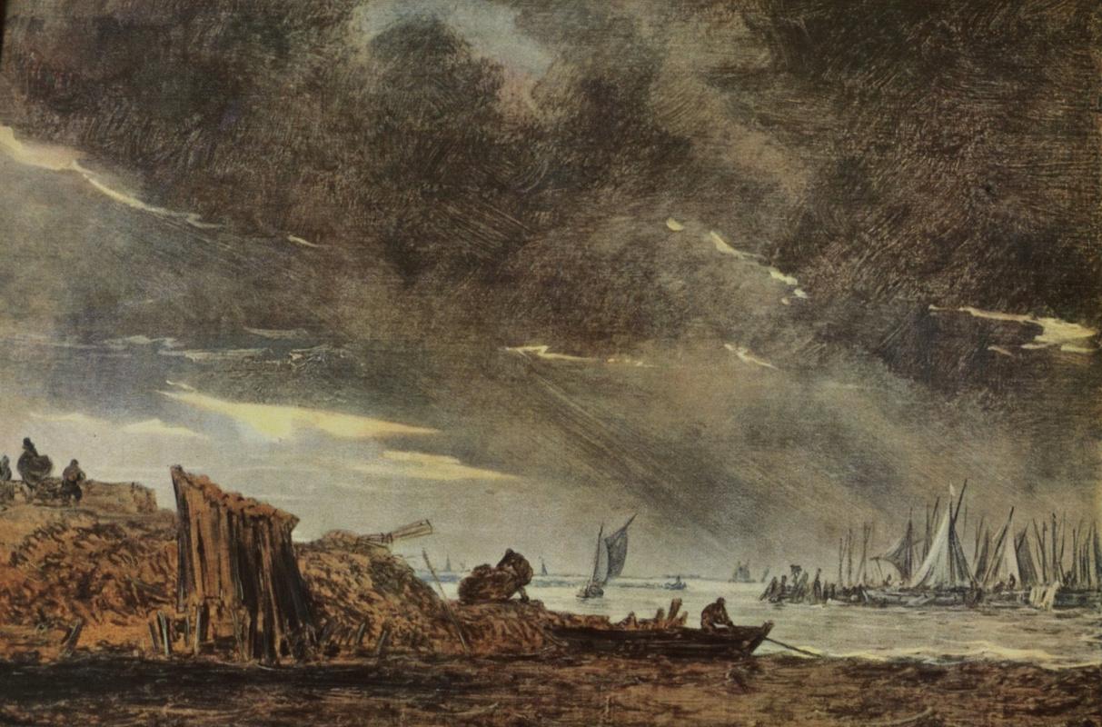 Jan van Goyen. Before the storm