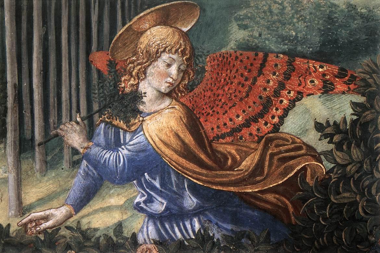 Беноццо Гоццоли. Ангел