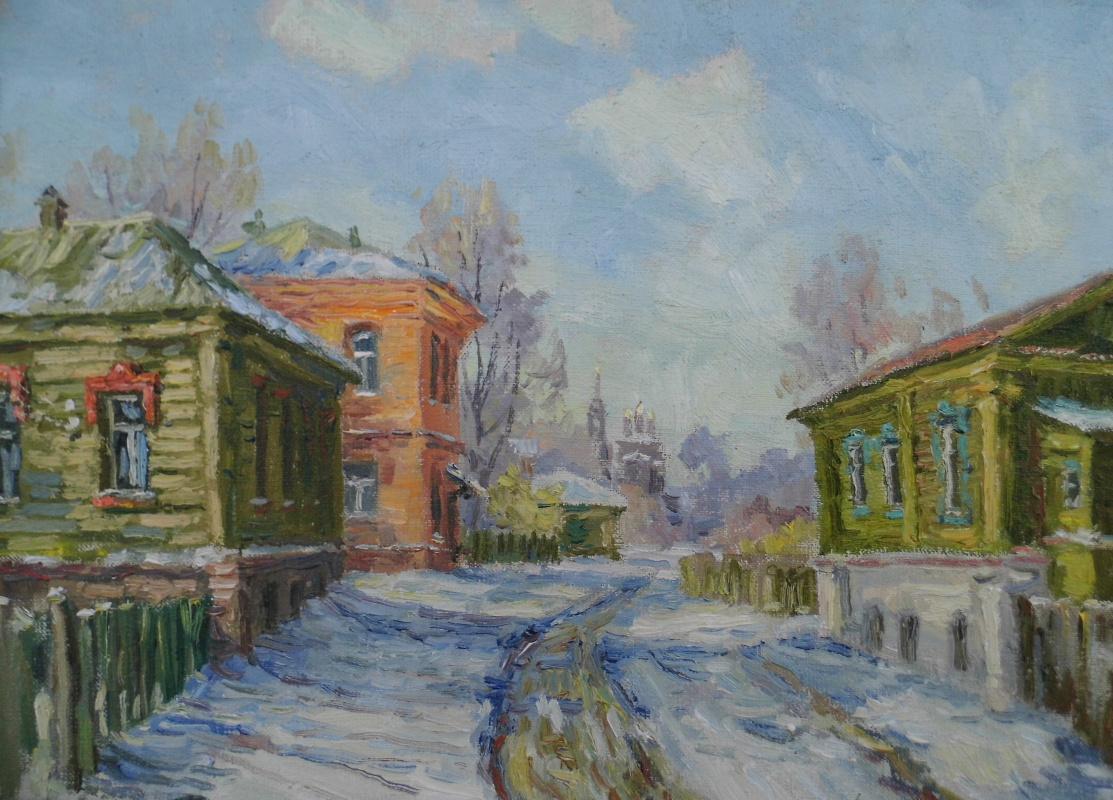 Victor Vladimirovich Kuryanov. Early March