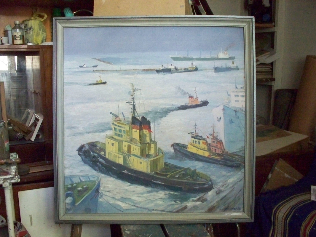 Svyatoslav Petrovich Skorobogatov. Winter navigation
