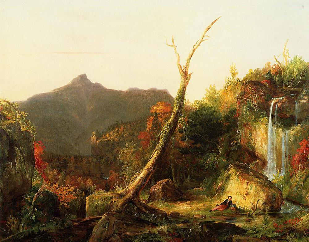 Thomas Cole. Autumn landscape