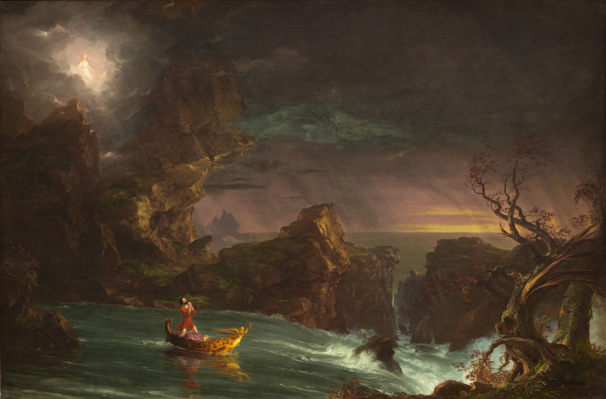 Thomas Cole. The journey of life. Maturity