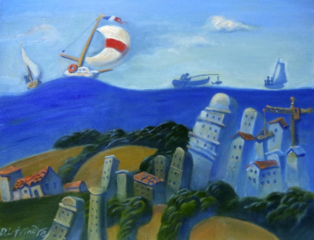 Daniil Litvinov. Море над Одессой