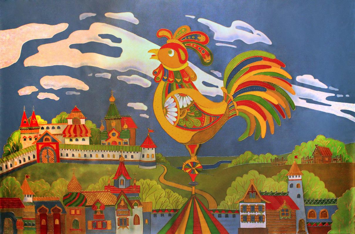Ксения Михайловна Стеценко. The Golden Cockerel