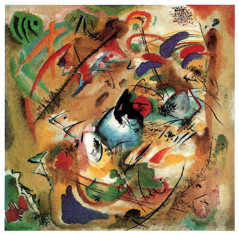 Wassily Kandinsky. Improvisation. Dreamy