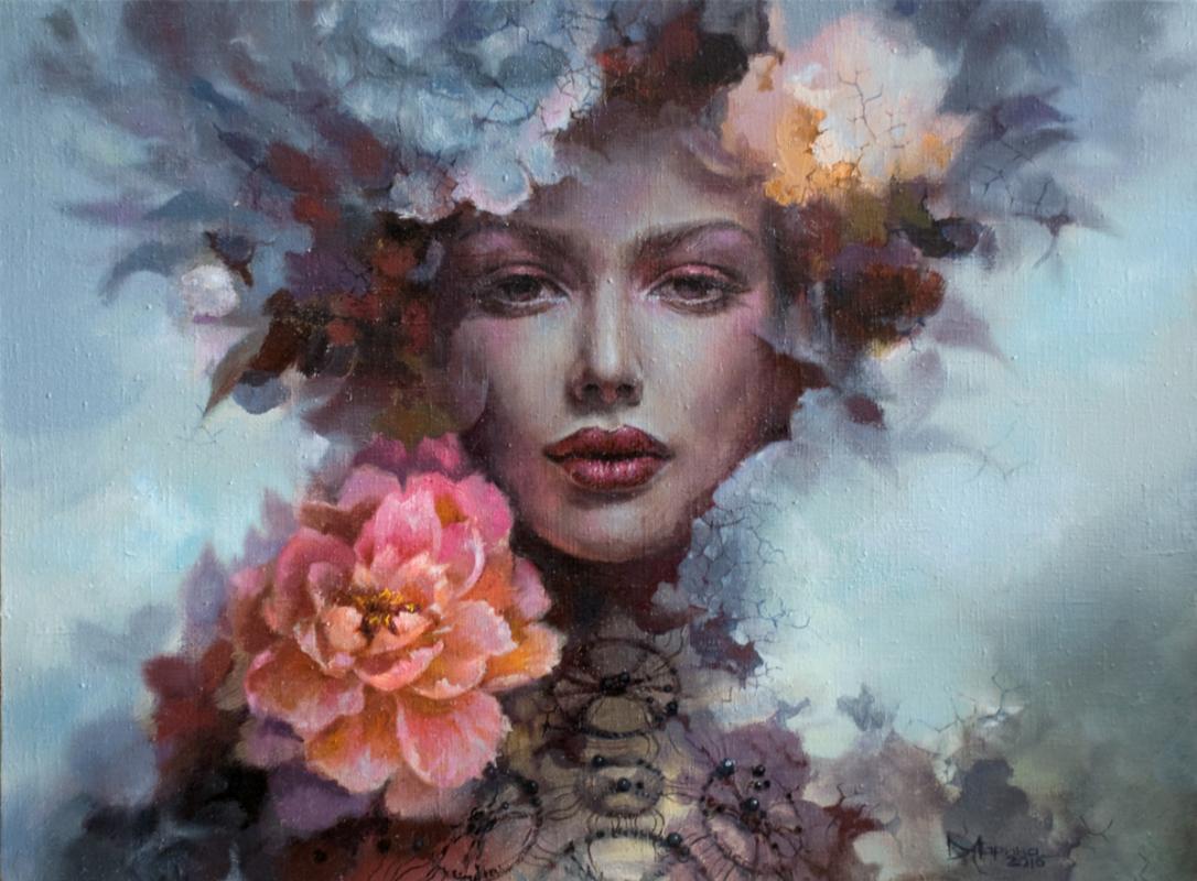 Marina Khlebnikova. Flowers of hope