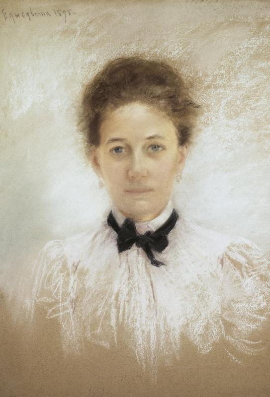 Елизавета Федоровна Княгиня. Портрет неизвестной