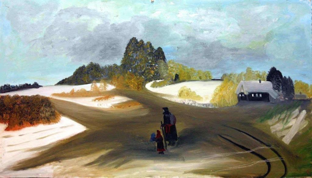 Love Mikhailovna Maikova. The road to the temple