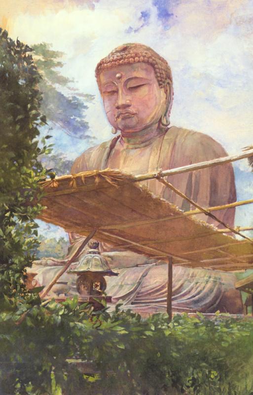 Джон Лафарг. Великая статуя Будды
