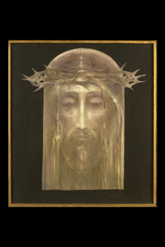 Борис Талесник, архитектор, художник. Христос в терновом венке